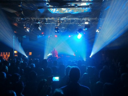 nitzer ebb lit by kbx lighting at double door, chicago, il